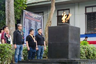 Vanguards are Coming - Balik Barracks 2016
