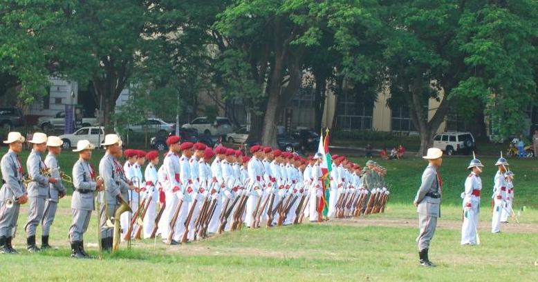 UPROTC Centennial Parade and Review