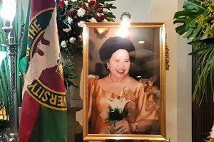 In Memory of Miriam: Senator Miriam Defensor Santiago, UP Corps of Sponsor 1969