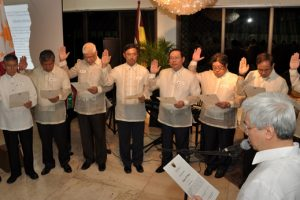 UP President Pascual Inducts UP Vanguard Board of Governors