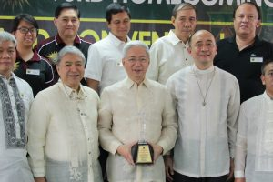 President Alfredo Pascual in UP Vanguard Oblation Award roster