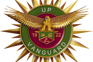 The New UP Vanguard Incorporated Seal