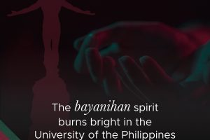 The bayanihan spirit burns bright in the University of the Philippines