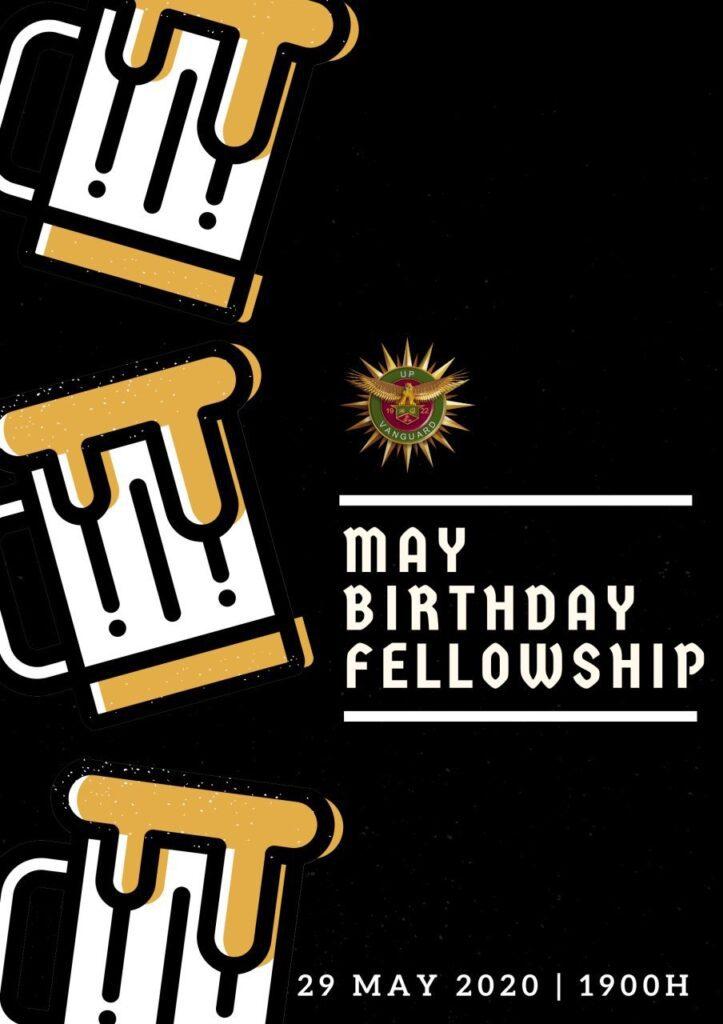 May 2020 Birthday Fellowship