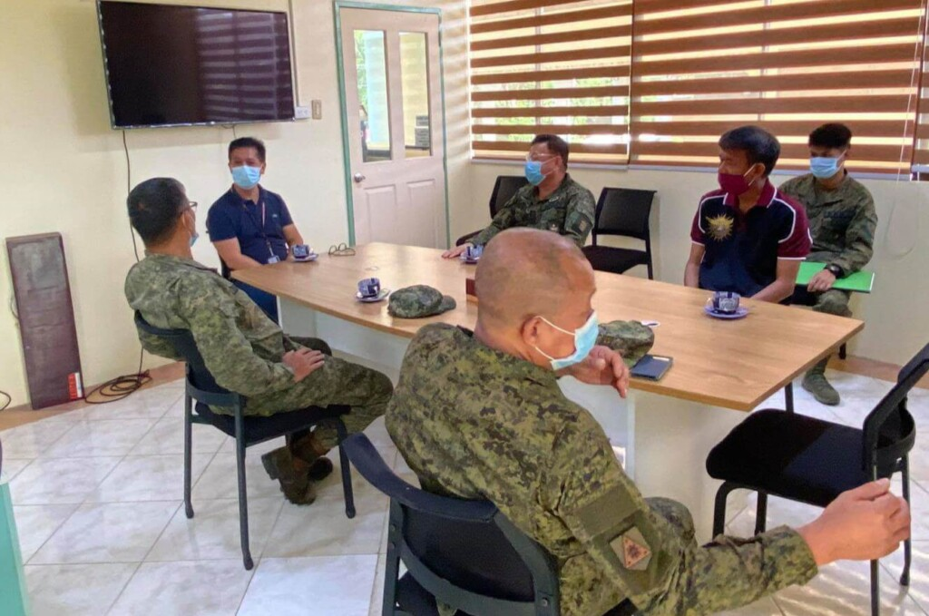 15 June 2020 Chapter Commander Sid Ungab '82 and MGen PJ Bondoc '85 Courtesy Call to UP Mindanao Chancellor Prof. Larry N. Digal . Included in the discussion is the reactivation of ROTC in UP Mindanao.