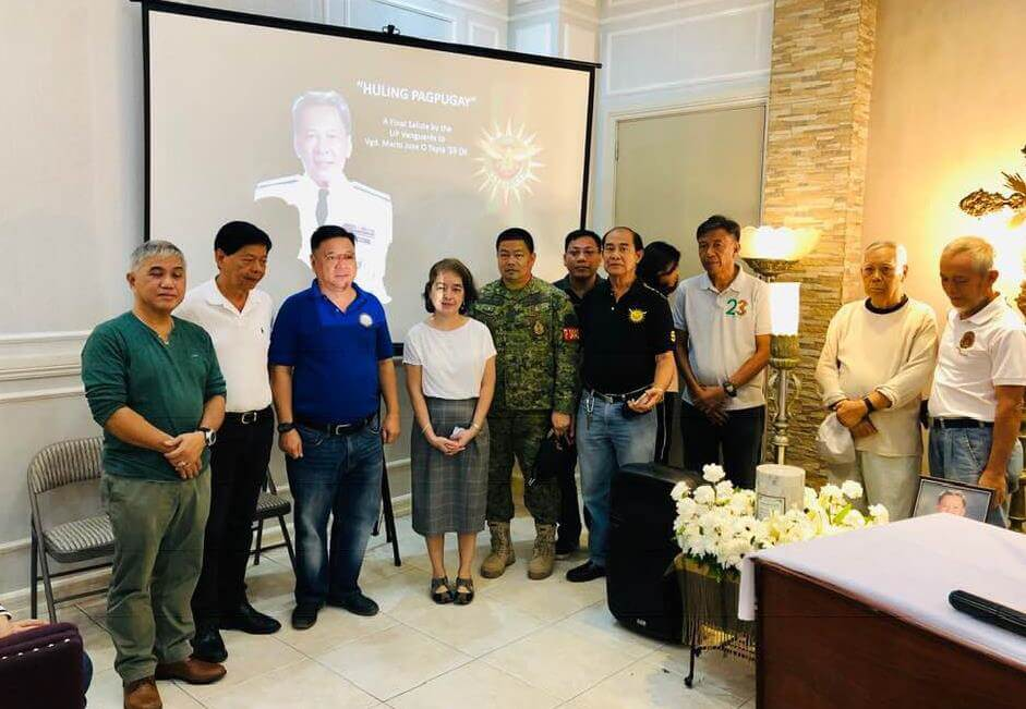 11 January 2019 Huling Pagpupugay for Col. Marjo Tapia