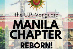 U.P. Vanguard Manila Chapter Reborn!