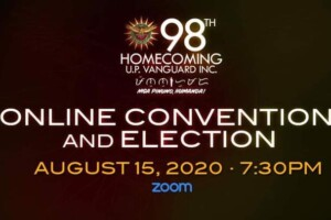 98th U.P. Vanguard Homecoming | Online Convention & Election