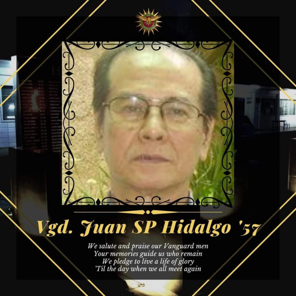 Vgd Juan SP Hidalgo Jr. '57