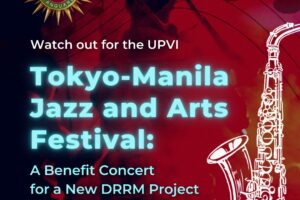 Watch Out for the Tokyo-Manila Jazz and Arts Festival: A Benefit Concert for a New DRRM Project