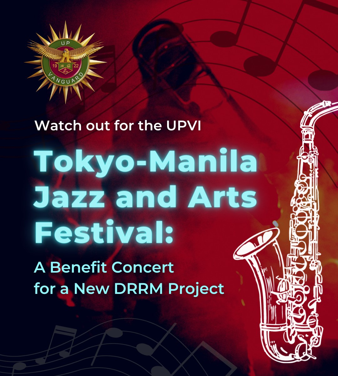 Tokyo-Manila Jazz and Arts Festival: A Benefit Concert for a New DRRM Project